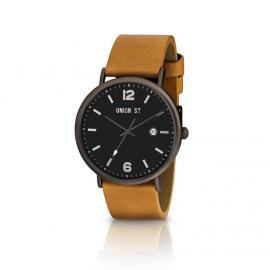 Union St. Joshua Black and Tan Watch image