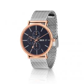 Union St. Ethan Rose and Silver Watch image