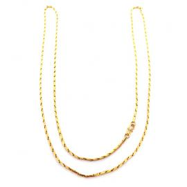 20ct Fancy Link Chain 75cm image